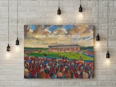 allianz park  canvas a2 size